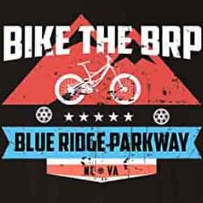 Bike The Blue Ridge Parkway T-Shirt - North Carolina and Virginia