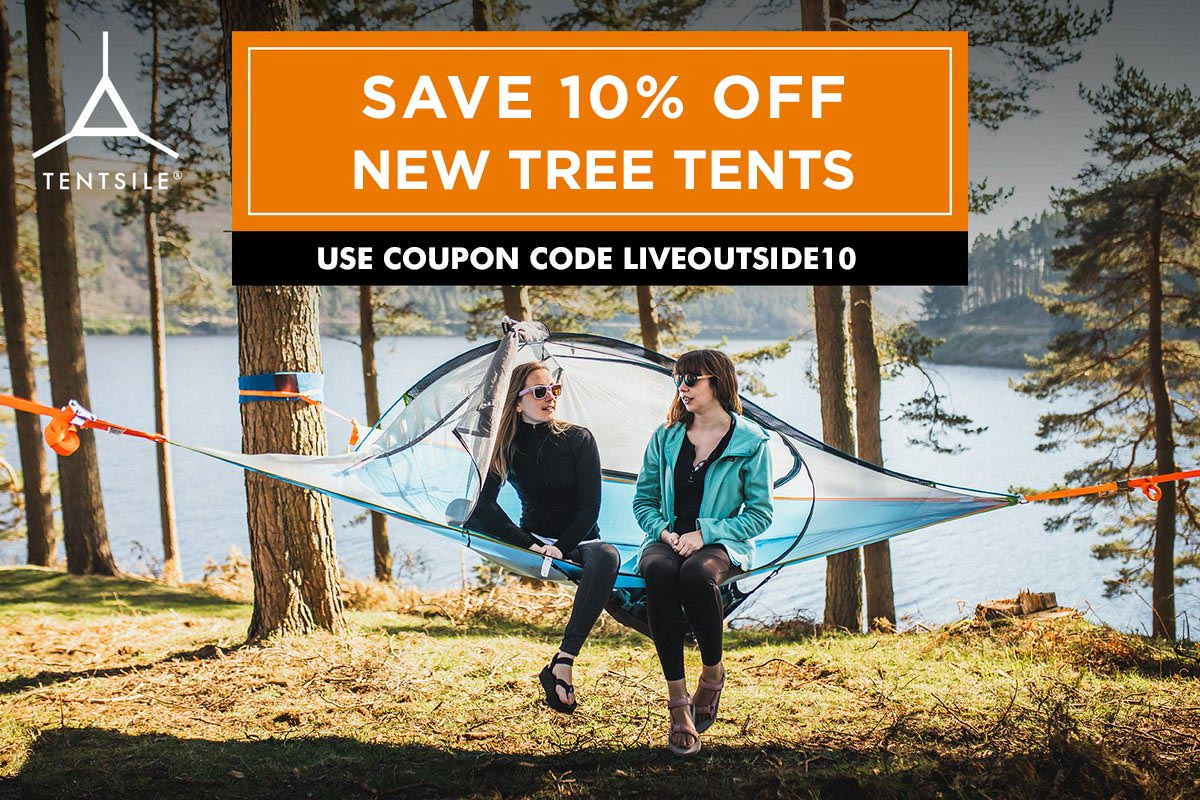 Save 10% on Tentsile Tree Tents