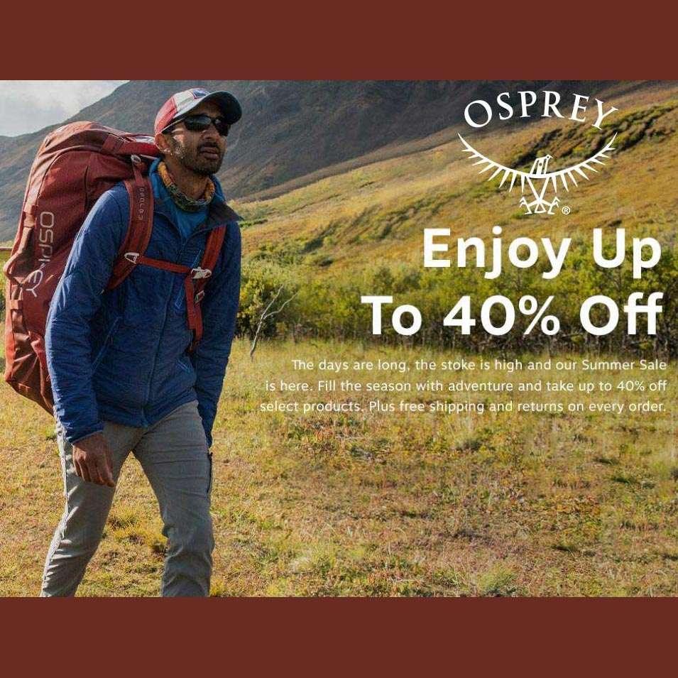 Osprey Summer Sale Up To 40% Off