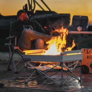 The Leave No Trace Fire Pit Bundle from Fireside Outdoor