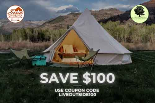 Save $100 Off Stout Tents